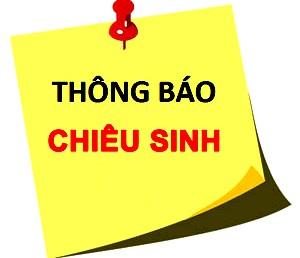 Hội Châm cứu Việt Nam Thông báo chiêu sinh