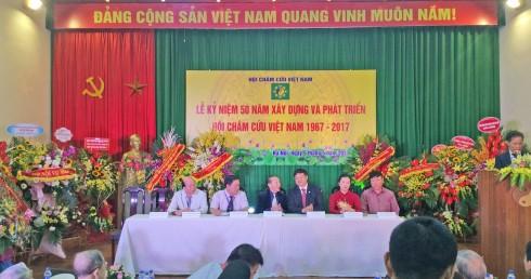 Lễ kỷ niệm 50 năm xây dựng và phát triển Hội Châm cứu Việt Nam 1967 – 2017